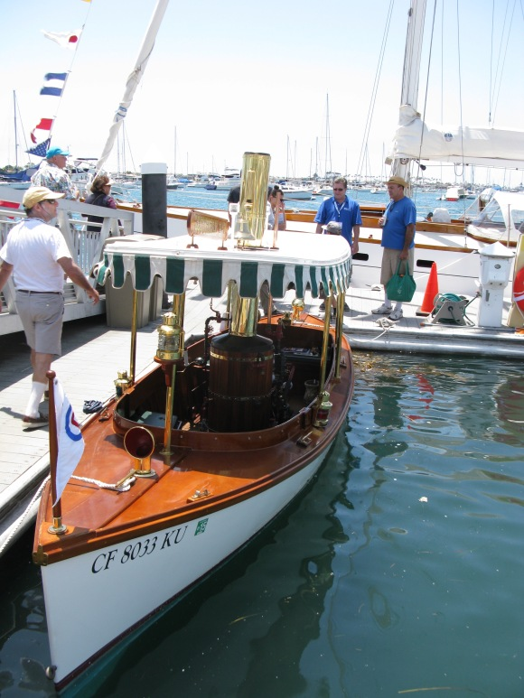 SOUTHERN BAY 1994 Replica of a 1904 Truscott Mfg. Co Steam Launch. Compromise hull and 33 sq ft. Propane fired vertical tube boiler.