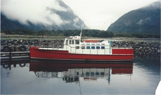 ANITA BAY Milford Sound march 92