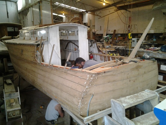 LITTLE TASMAN AS AT 7.8.15 REFURB BY COLIN BROWN OMAHA - 3