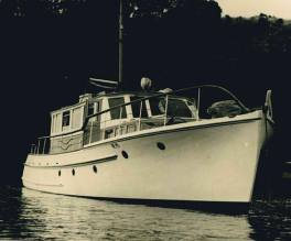 MAHARATIA -2 - 1954 now ANITA BAY IV Builder Roy Lidgard - 3