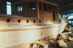 Rebuild of wheelhouse & cabin top