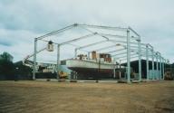 New shed at Kameo