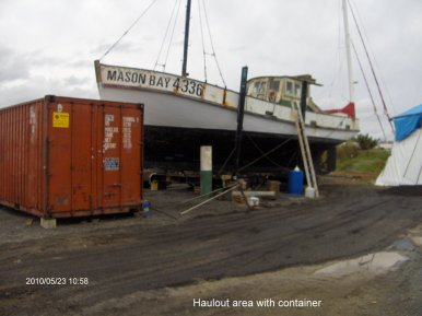 Second weeks work on Mason Bay 019