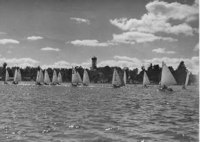 Easter Regatta, Hamilton Lake, 1949b