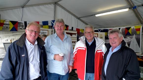 Martin Tusker, Tony Stevenson, Peter Montgomery, Greg Fenwick