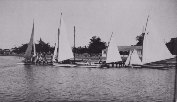 Patiki yachts 31st January 1931.Mahaurangi ,Maroondah (swallow)