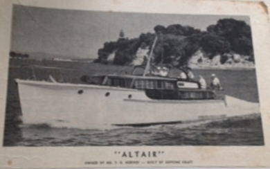 ALTAIR AT SPEED - c 1962