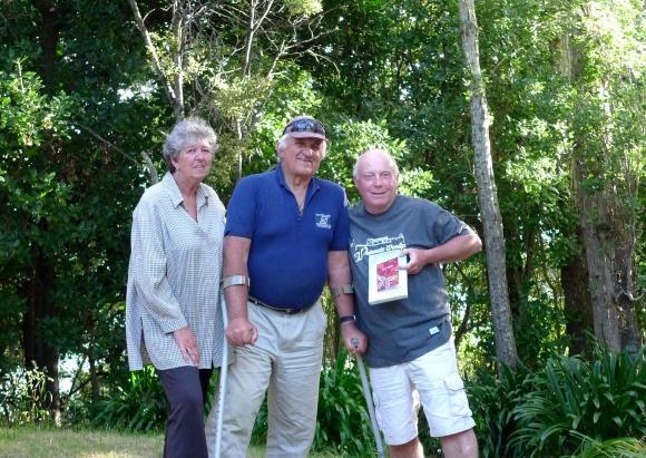 Margaret & Bert Woolicott, Alan Houghton