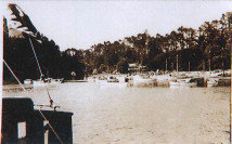 Christmas 1937. Mansion House Kawau