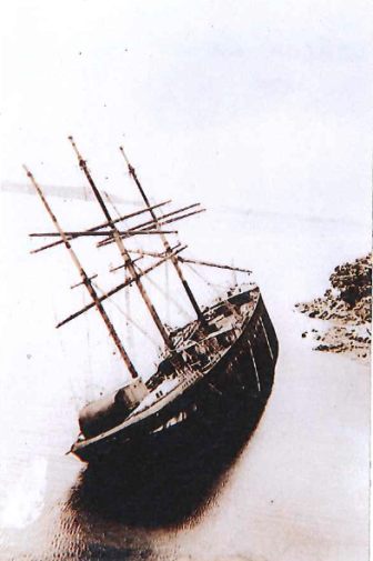 1939. Rewa wreck