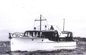With cockpit dodger,flybridge & bow rail