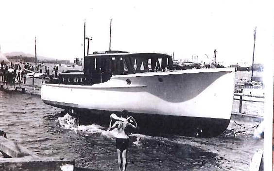 1935 Launch Day