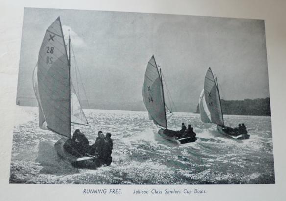 Jellicoe Class Sanders Cup Boats 1