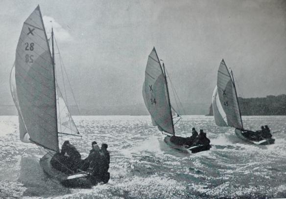 Jellicoe Class Sanders Cup Boats