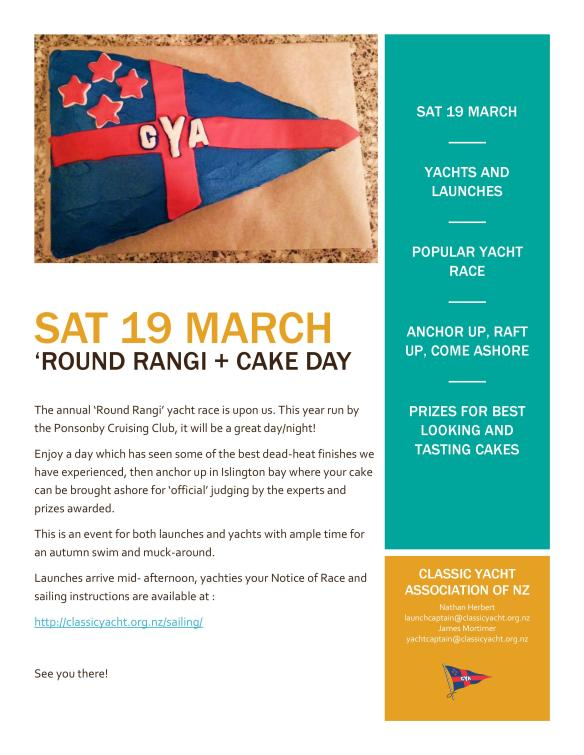 Round Rangi and Cake Day IMAGE