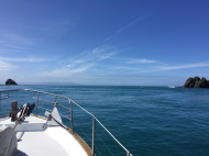 WAIRANGI- THE JOURNEY NORTH - PICTON TO AUCKLAND- PT. 1- REALLY ON HER WAY - IN TO COOK STRAIGHT-
