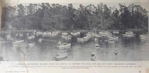 RNZYS Kawau Weekend Feb1947
