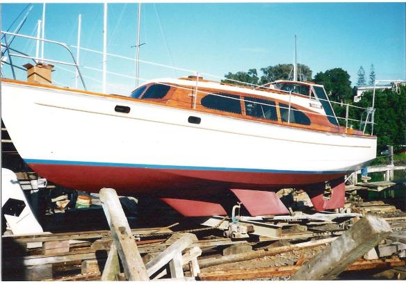 Takohe winter refit 2 1993