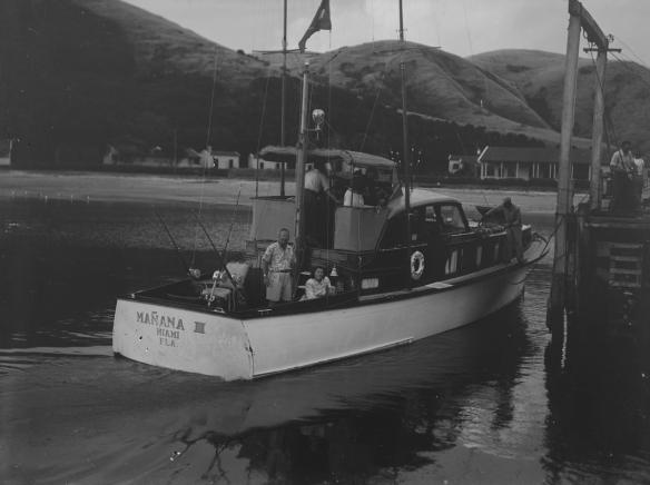 MANANA III - OTEHEI BAY c1940s