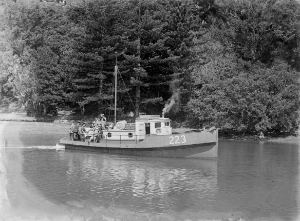 NANCIBEL - 223 - 1940s- MANSION HOUSE  BAY - T. COLLINS COLLECTION EX MUSEUM - I.D PH-2013-7-TC-B808-02