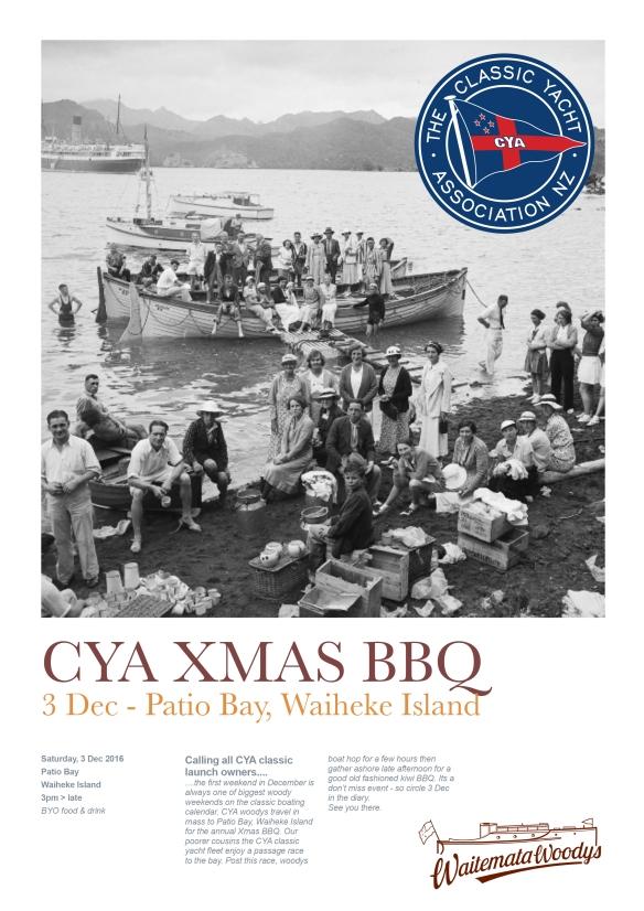 CYA Xmas BBQ Poster