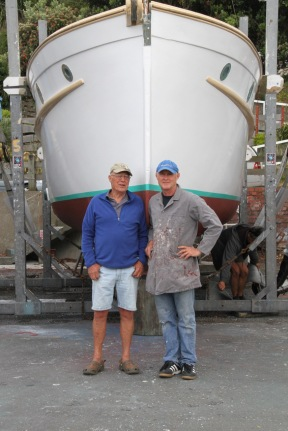 Rob and Robbie Uivel senior