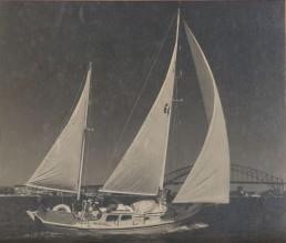 Maroro - on Sydney Harbour, 1962