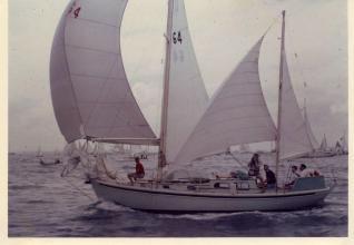 Maroro - under full sail, 1960ish