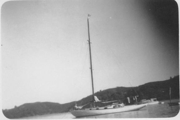 NGATIAWA TAKEN BY KR CHRISTMAS 1952 AT KAWAU