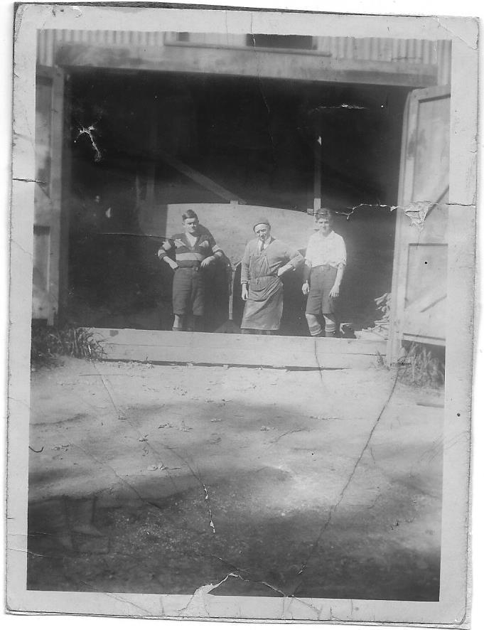 Doorway Joe Slattery's Shed