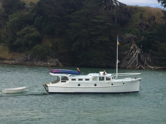 OKE BAY LEAVING SANDSPIT
