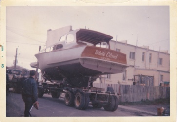 WHITE CLOUD LEAVING 1A SUMMER ST PONSONBY - JUNE 1965 -2
