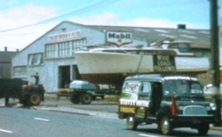 WHITE CLOUD LEAVING FODENWAY MOTORS GT SOUTH RD PENROSE FOR LAUNCHING-1965