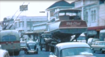 WHITE CLOUD SUMMER ST TO PENROSE - IN PONSONBY RD - JUNE 1965 - 2