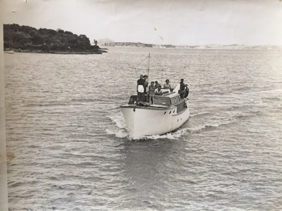Drunken Bay, Rangitoto - 1938