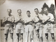 Aruther,Les,Bob,Col,Eric - Kamo Mineral Springs Dec 1938 > Jan 1939