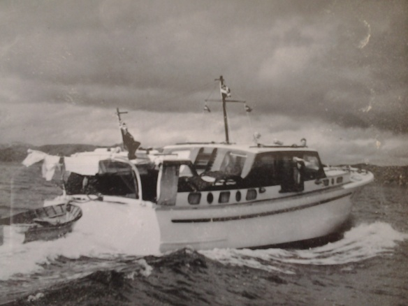 LADY EILEEN AT SPEED c1950
