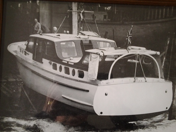 LADY EILEEN - LAUNCHING DAY