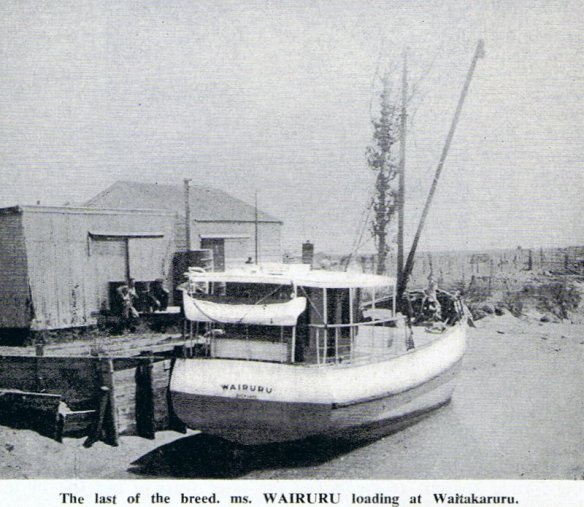 Wairuru at Waitakaruru