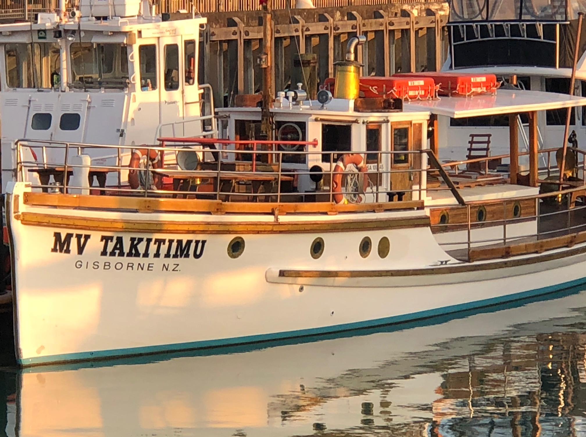 MV Takitimu Mar2019