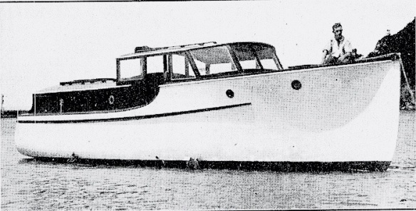 Royal Falcon 1934 Martin boat 1