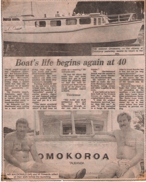 Omokoroa BOP Times Article