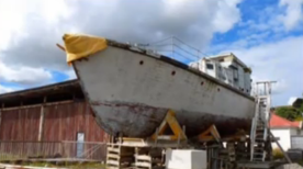 KOPARU PRE RESTORATION - OWNER SCOTT PERRY- KAIPARA HARBOUR 30.9.18 - 1