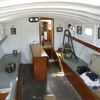 MY GIRL and PACIFIC Relaunched - 60+ Wooden Boat Photos