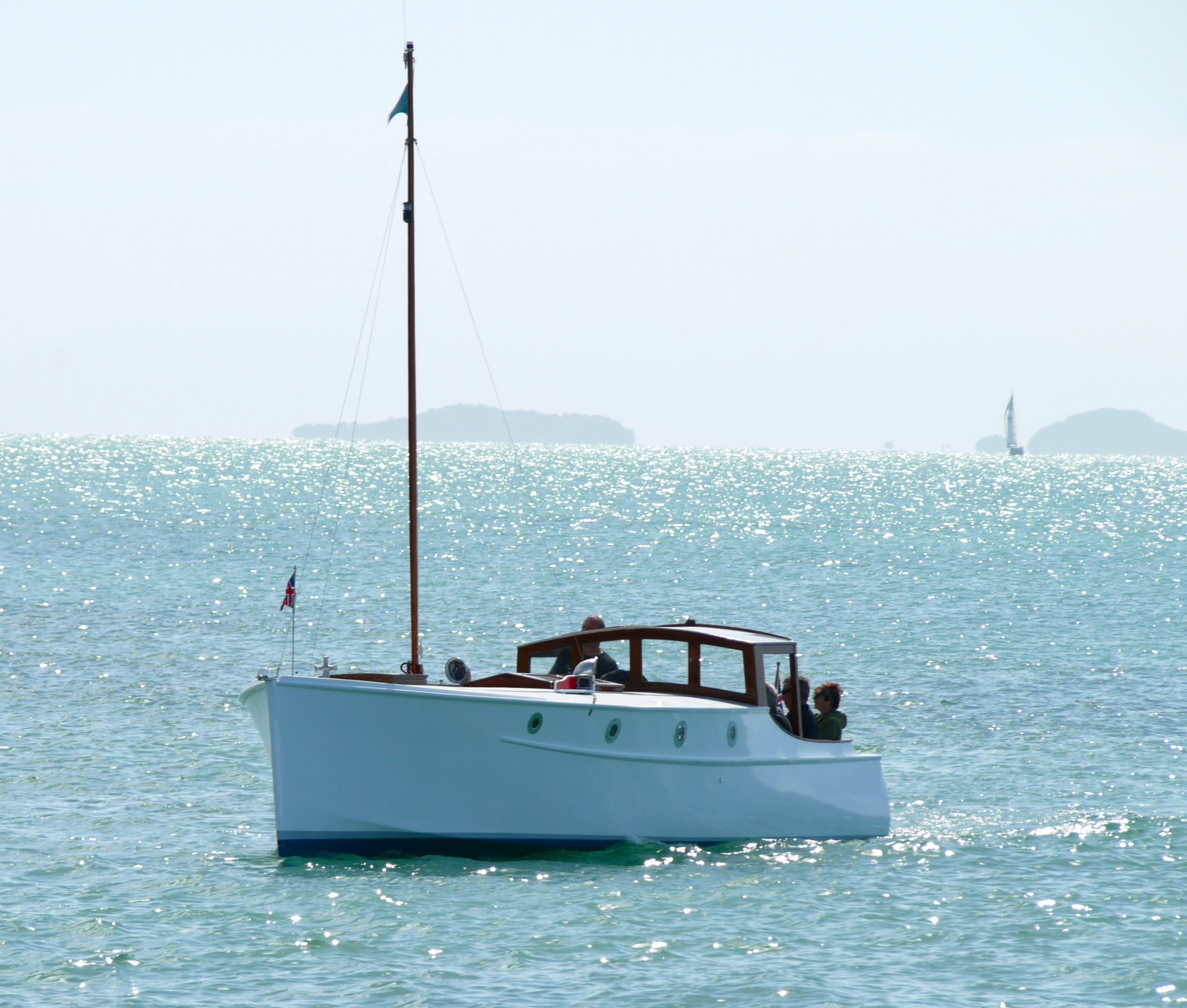 My Girl And Pacific Relaunched  U2013 60  Wooden Boat Photos