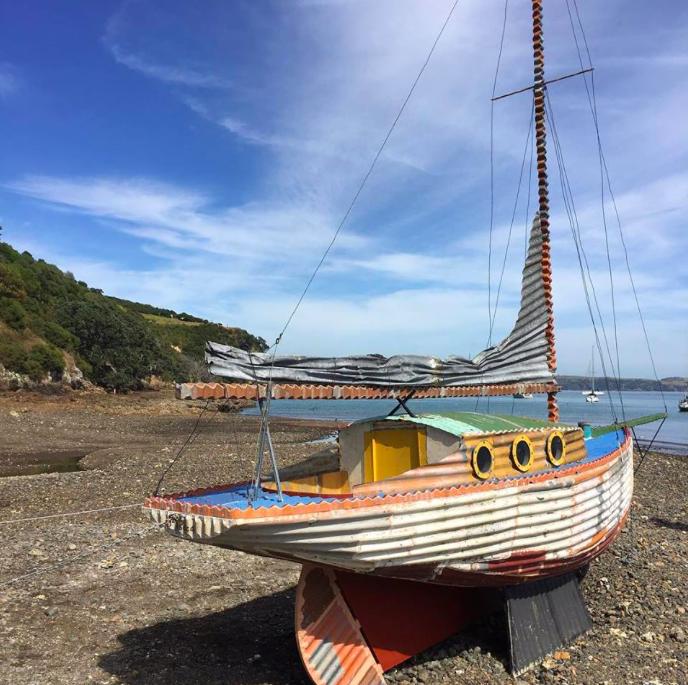 Waiheke Coro Iron Yacht
