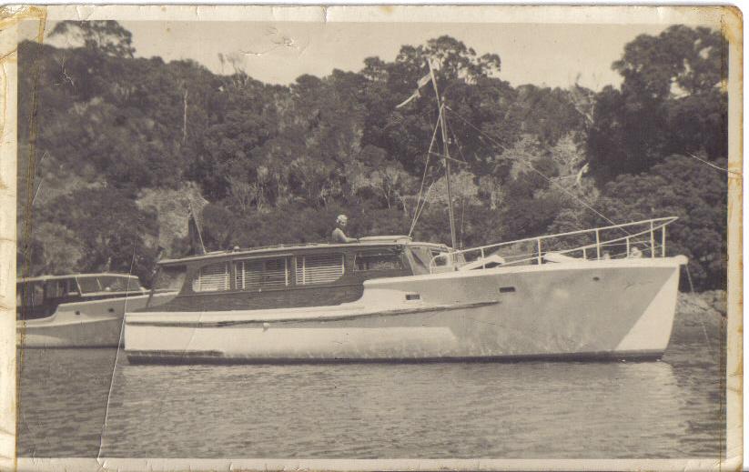 'Antares'- Garden Cove 1955 (Sold Sept. 1962)