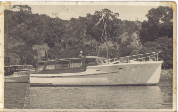 'Antares'- Garden Cove 1955 (Sold Sept. 1962)