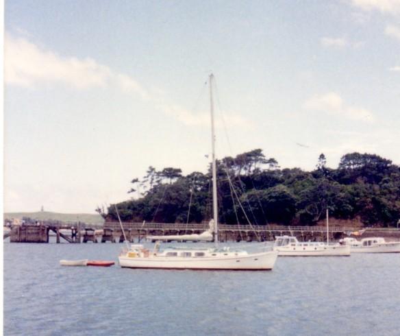 wendella at motuihe xmas 1987