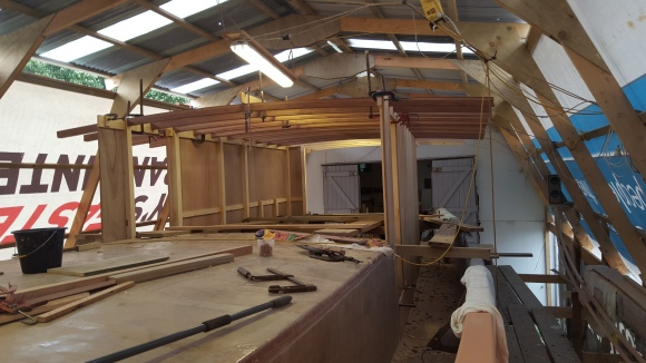 J1 Wheelhouse takes shape